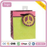 Красочный зеленый одежду Storegift искусства покрытием бумажных мешков для пыли