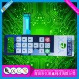 Clavier numérique de clavier gravant la touche à effleurement flexible de panneau de circuit imprimé