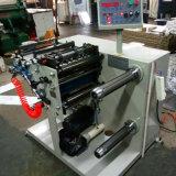 320 mm de etiqueta adhesiva Línea de corte longitudinal la máquina rebobinadora cortadora longitudinal