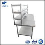 Melhor preço comercial mesa de trabalho de aço inoxidável para cozinha