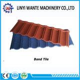 Mattonelle di tetto ricoperte pietra facile ondulata dell'obbligazione del metallo della costruzione
