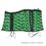 خضراء مثيرة وسط مدرّب ملبس داخليّ ينحل جسم مشكّل مشدّ