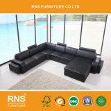 Insieme di cuoio sezionale del sofà di grande formato 8050