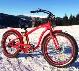 '' bicicleta eléctrica del neumático 26 del crucero gordo de la playa para el hombre