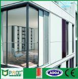 Elevatore di alluminio e portello scorrevole con doppio vetro vuoto