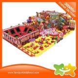 Naughty Château d'équipement de terrain de jeux de sports de terrain de jeux intérieure avec trampoline