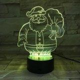 Диктор Bluetooth экрана касания светов тональнозвукового диктора Santa Claus рождества цветастый беспроволочный