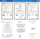 Двойной односторонний принтер карты из ПВХ с сертификации RoHS