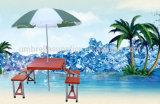 """42를 위한 조밀한 180g 옥스포드 직물 """" 정원 우산"""