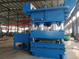 máquina fría de la prensa de la piel de la puerta de madera de metal 3000tons con el PLC