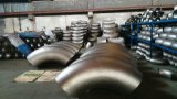Instalación de tuberías de las curvas de tubo de acero inoxidable