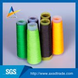 Fil à tricoter tourné par boucle crue d'usine de la Chine de filé de polyester de 100%