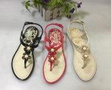Женщин благоухающем курорте Леди Pcu обувь выходящего из ПВХ