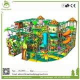 O projeto novo caçoa estruturas macias do jogo para a zona dos miúdos