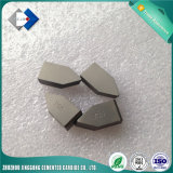 El carburo de tungsteno Yg6 cubierto con bronce inclina el tipo C120 para hacer los mangos de maniobra