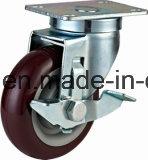 中型の義務のタイプPVC足車の車輪