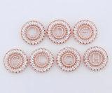 Nuevo collar hermoso del colgante del alfabeto del Zirconia de las señoras del diseño