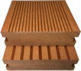 Panneau en plastique en bois de PE du composé Decking/WPC DIY de longue vie