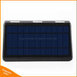 lámpara solar al aire libre de movimiento de 1500lumen 66LED de la luz solar de gran alcance del sensor