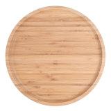 Dienblad van de Pizza van het Dienblad van het Fruit van de Dienst van het restaurant of van de Staaf het Houten