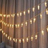 Luces del clip de la foto de la tarjeta de la cadena de la novedad LED