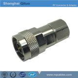 Gerader männlicher Stecker Slef-Verschluss des HF-Verbinder-N (N-J7A)