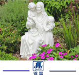 自然な庭の花こう岩の大理石の石の彫像の手によって切り分けられる彫像の大理石像の石造りに切り分けること