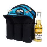 Camping Picnic 6 Pack vino, cerveza de soporte para botella de champán
