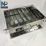 Type carré aimant de tiroir de bride de grille renfermant le séparateur magnétique
