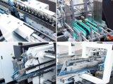 Verrouillage automatique après blocage bas de la machine d'encollage de pliage de 4/6 Corner (GK-1100GS)
