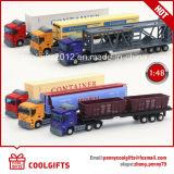 Miúdos de venda quentes 1/48 de brinquedo fundido escala do caminhão de petroleiro do petróleo