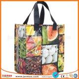 Prix bon marché pliable stratifié imprimé Eco Recyclable sac non tissé
