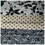 Постельное белье вискоза, постельное белье из хлопка, смешайте и соткана ткань печать ткань юбка из ткани одежды