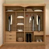 Foshan (ST0071)에서 하는 사치품에 의하여 이용되는 고품질 침실 옷장