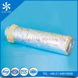 Conducto flexible del aislante del acondicionador de aire de la ventilación del hospital inflamable