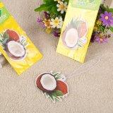 Кокосовые Запах освежителя воздуха подвешивания с упаковки бумаги (YH-AF240)