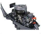 Do motor cinzento do barco da gasolina 169cc do curso do motor externo 2 do motor 5.9kw do barco da qualidade superior 8HP motor externo Fuera De Borda