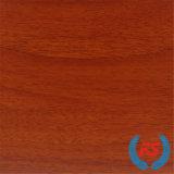 papel impregnado melamina de madera del grano de la nuez de 1250mm*2470m m para MDF (8155)