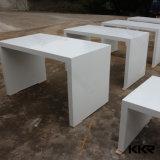 왕 백색 아크릴 단단한 지상 바 카운터 테이블