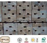 Bâti imperméable à l'eau de Windows en bois solide