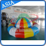 UFO inflable de Cary, deporte de agua inflable, barco inflable del disco del agua