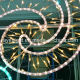 Motif de Noël 3D Light Street Décoration feux montés sur pôle
