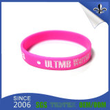 Wristband promozionale su ordinazione del silicone di Debossed per l'evento