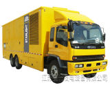 Volvo Engineのディーゼル発電機によって動力を与えられる250kw携帯用緊急の発電機