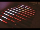 8sections RGB LED Stadiums-Effekt-Stab-Licht