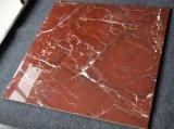Rote glasig-glänzende Fliese-Marmor-Polierfliese des Porzellan-60*60