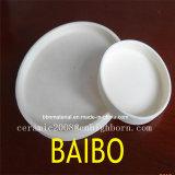 Ceramische Boot van het Zirconiumdioxyde van de hoge Precisie de Witte