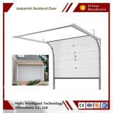 Passage automatique d'aluminium, acier, porte de garage en verre trempé