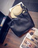韓国の新しい大きい容量の黒のワニ袋の方法携帯用ショルダー・バッグ