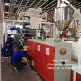 Clique em plástico rígido de PVC do sistema Core Rvp Spc Máquinas Co-Extrusion pisos de vinil